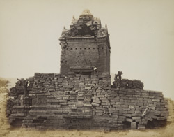 Old temple, general view from the east, Gop, Kathiawar